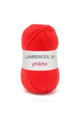 Lambswool 51 ROUGE Kleurnummer 0009