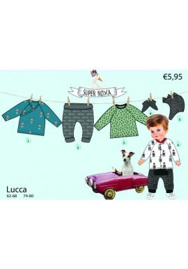 Supernova kids pattern Lucca