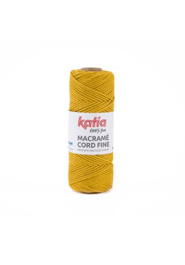 Macramé Cord Fine 220 gram Kleur 208 - Oker