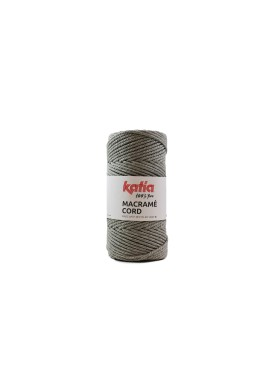 Macramé Cord 500 gram Kleur 102 - Licht grijs