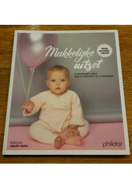 Makkelijke uitzet (34 breimodelletjes van de geboorte tot 12 maanden) van phildar