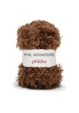 Phil Nounours marron Kleurnummer 0004