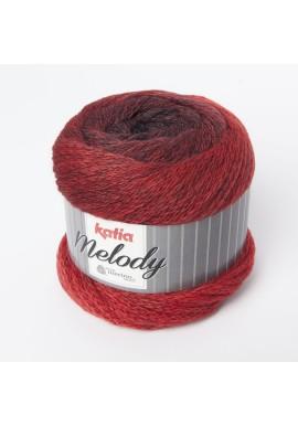 Melody Kleurnummer  206 - Zwart-Rood