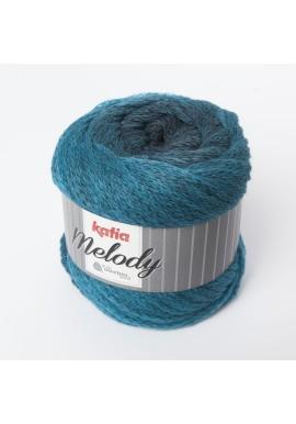 Melody Kleurnummer  207 - Zwart-Groenblauw