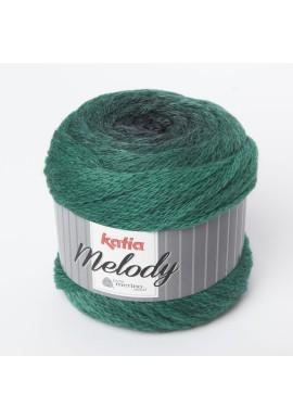 Melody Kleurnummer  208 - Zwart-Lichtgroen