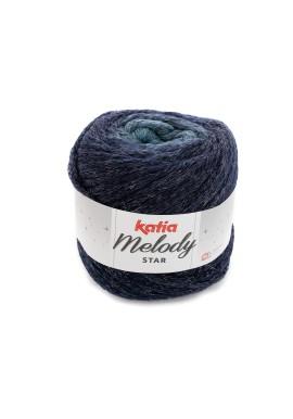 Melody Star Kleurnummer 407 - Turquoise-Donker blauw