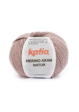 Merino Aran Natur Kleur 302 Bleekrood