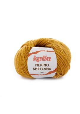 Merino Shetland Kleur 101 Geel Veelkleurig