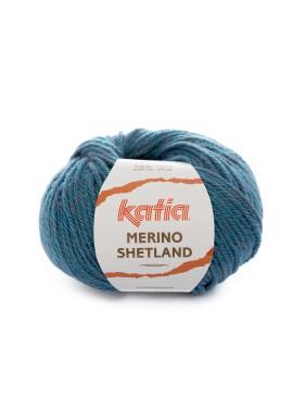 Merino Shetland Kleur 106 Groenblauw Veelkleurig