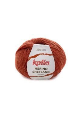 Merino Shetland Kleur 58 - Roestbruin