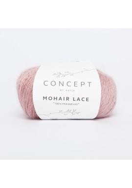 Mohair Lace Kleurnummer 302 - Parelmoer-lichtrood