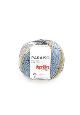 Paraiso Kleurnummer 101 - Medium paars-Citroengeel-Camel-Kaki