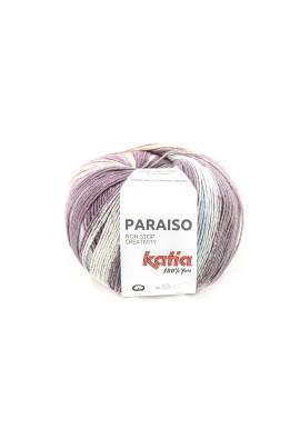 Paraiso Kleurnummer 105 - Beigerood-Waterblauw-Parelmoer-lichtviolet