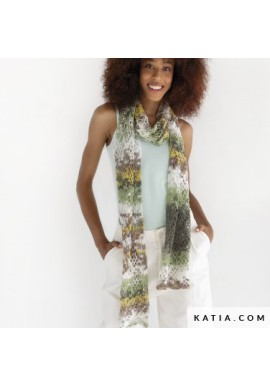 Jaipur Soft gehaakte sjaal
