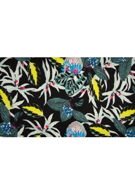 PC1700-009 Viscose / SP Print Navy