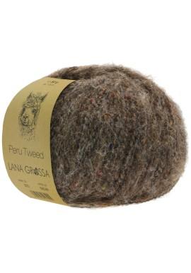 Peru Tweed Kleur 9 Grijsbruin