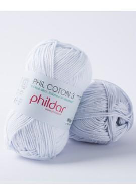 Phil Coton 3 CIEL Kleurnummer 003
