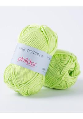 Phil Coton 4 PISTACHE Kleurnummer 0043