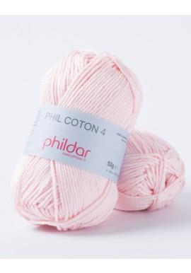 Phil Coton 4 ROSEE Kleurnummer 0001