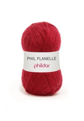 Phil Flanelle AMARANTE Kleurnummer 0008