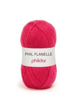 Phil Flanelle FUCHSIA Kleurnummer 0007