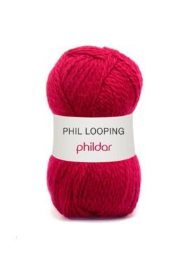 Phil Looping AMARANTE Kleurnummer 0004