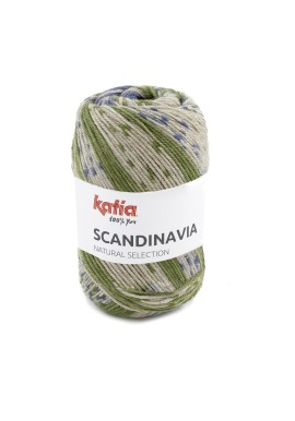 Scandinavia Kleurnummer 205 - Groen-Blauw