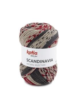 Scandinavia Kleurnummer 207 - Rood-Antracietgrijs