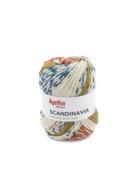 Scandinavia Kleurnummer 302 - Roestbruin-Groenblauw-Oker