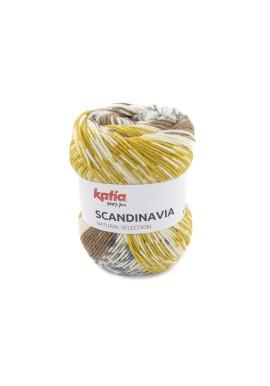Scandinavia Kleurnummer 303 - Mosterdgeel-Reebruin-Grijs