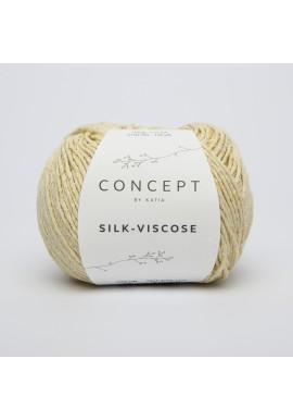 Silk Viscose Kleur 52 - Citroengeel