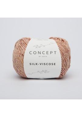 Silk Viscose Kleur 53 - Oranje-Koraal