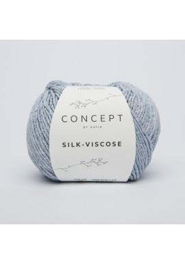 Silk Viscose Kleur 56 - Hemelsblauw