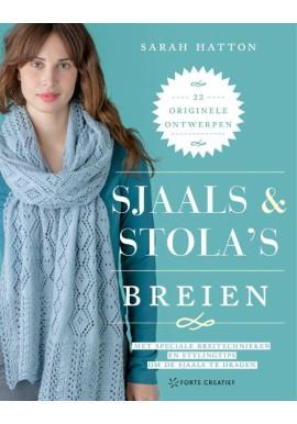 Sjaals & stola's breien van Sarah Hatton (Forte Creatief)