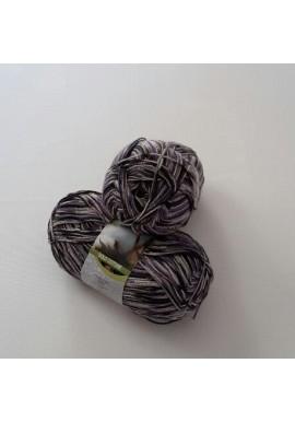 Katoenen sokkengaren Meilenweit Solo Cotone 100 gram Kleur 3410