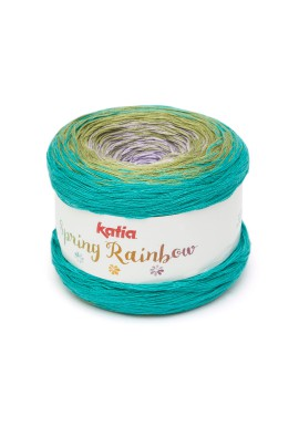 Spring Rainbow Kleur 60 - Lila-Groen-Turquoise
