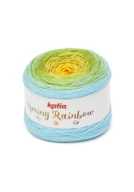 Spring Rainbow Kleur 61 - Geel-Pistache-Waterblauw