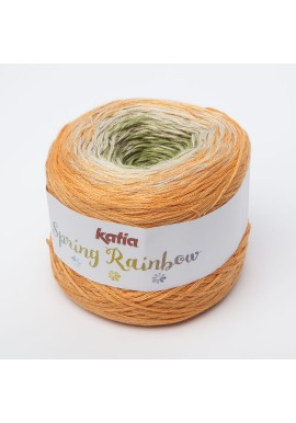 Spring Rainbow Kleur 56 - Oranje-Beige-Groen