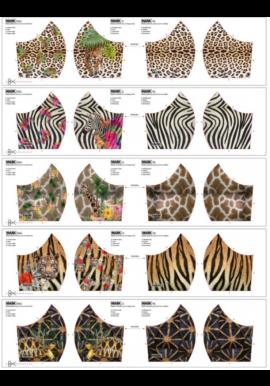 Mondmask2 verschillende prints voor mondkapjes