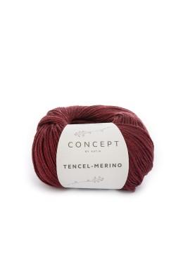 Tencil - Merino Kleur 101 Roodzwart