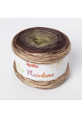 Top Rainbow Kleur 81 - Bruin-Pistache