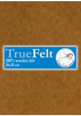 TrueFelt, 20x30 cm, caramel
