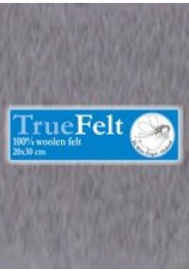 TrueFelt, 20x30 cm, grijs