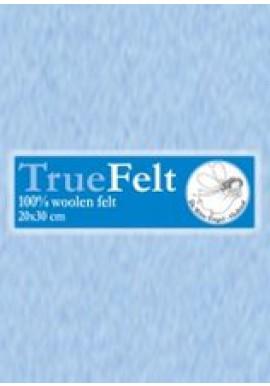 TrueFelt, 20x30 cm, heel zachtblauw