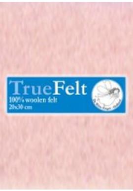 TrueFelt, 20x30 cm, heel zachtroze