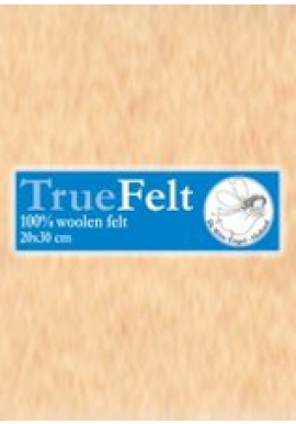 TrueFelt, 20x30 cm, huidskleur