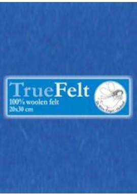 TrueFelt, 20x30 cm, koningsblauw