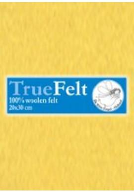 TrueFelt, 20x30 cm, kuikengeel
