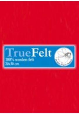 TrueFelt, 20x30 cm, rood