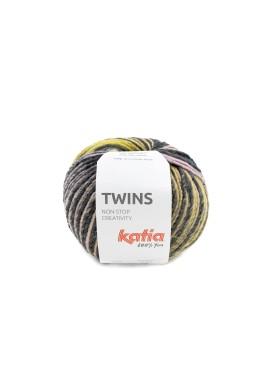 Twins Kleurnummer 151 - Oker-Bleekrood-Blauw